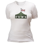 Camp FEMA – Women's T-shirt