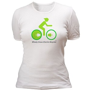 Wheely Green – Women's T-shirt